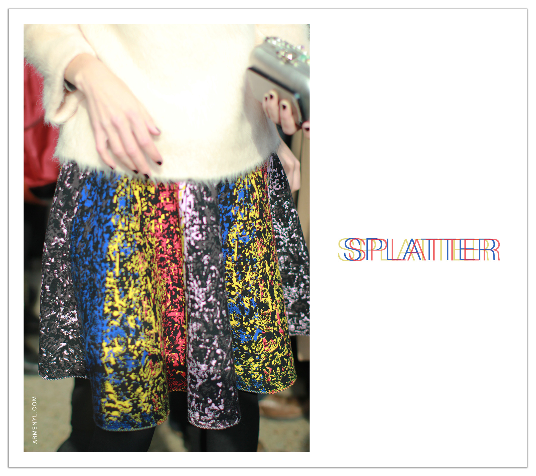 SPLATTER  Print by Armenyl.com blessed