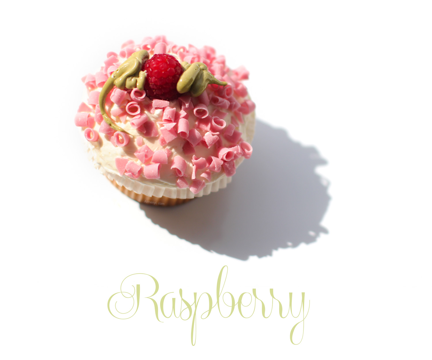 Food Photography Raspberry cupcake from wholefoods by Armenyl.com