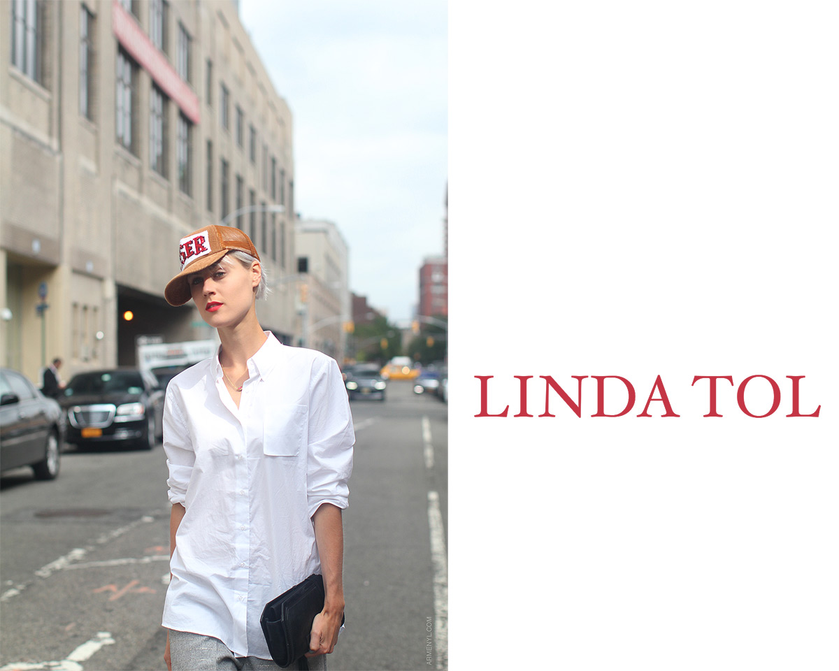 Linda Tol Street style at New Fashion Week photo by Armenyl.com