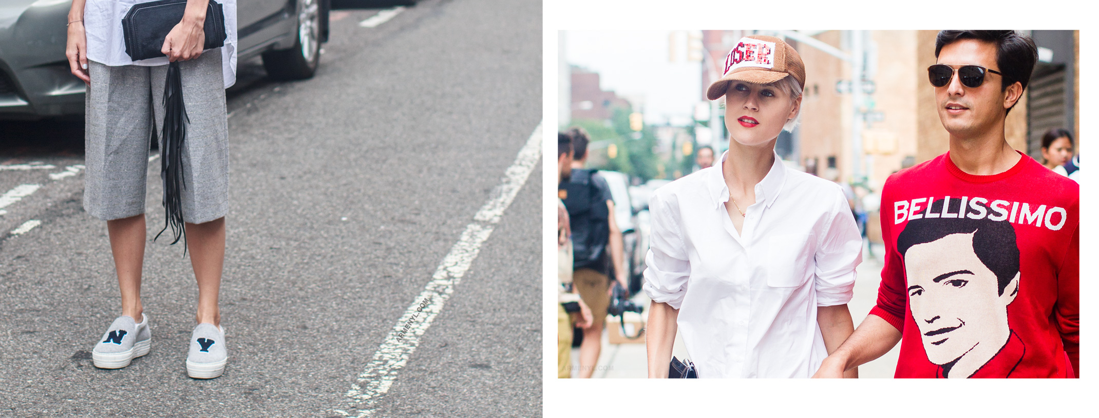 Street style, fashion blogger Linda Tol shot and edited by Armenyl