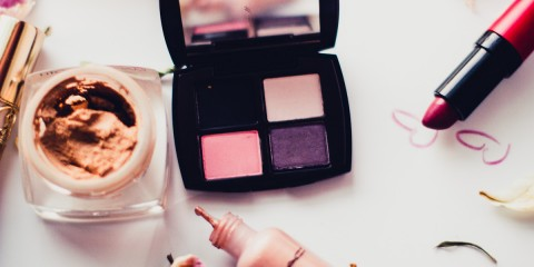 Make up, Estee Lauder eye shadow palette