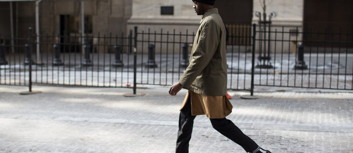 Men's street style at New York Fashion Week FW 2015 by Armenyl.com