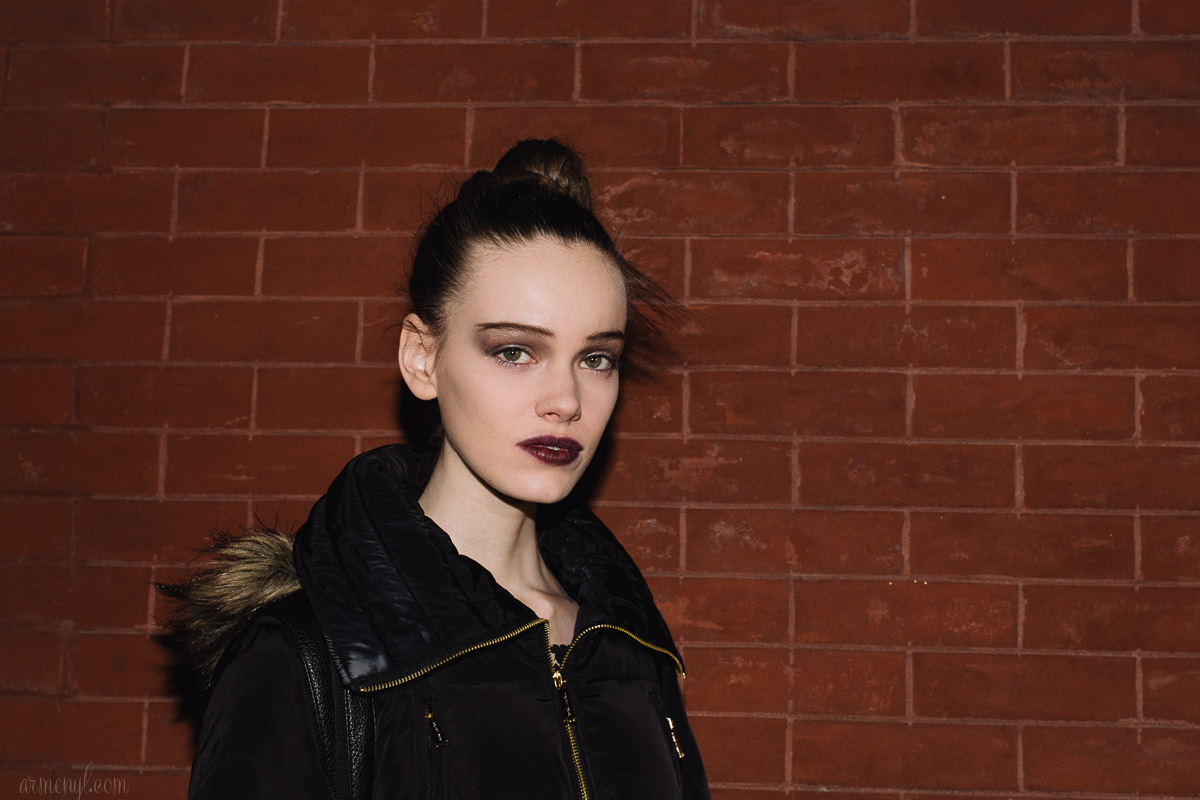 The Beauty Look at Marc Jacobs FW 2015 by Armenyl.com