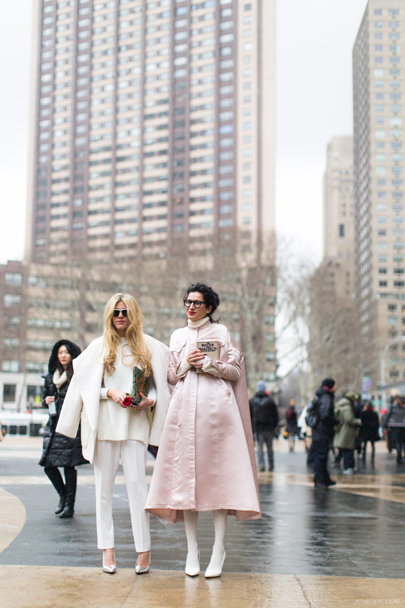 Pink at New York Fashion Week 2015 by Armenyl