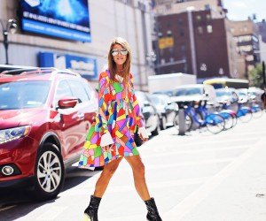 cover Anna Dello Russo at NYFW 2015 by Fashion Photographer Armenyl.com