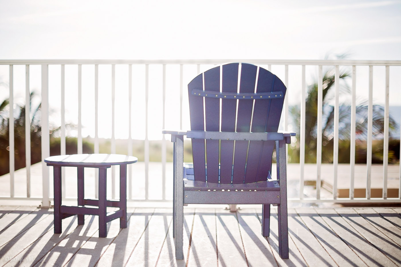 Beach Chairs from my Oceanfront room by photgrapher Armenyl, armenyl.com