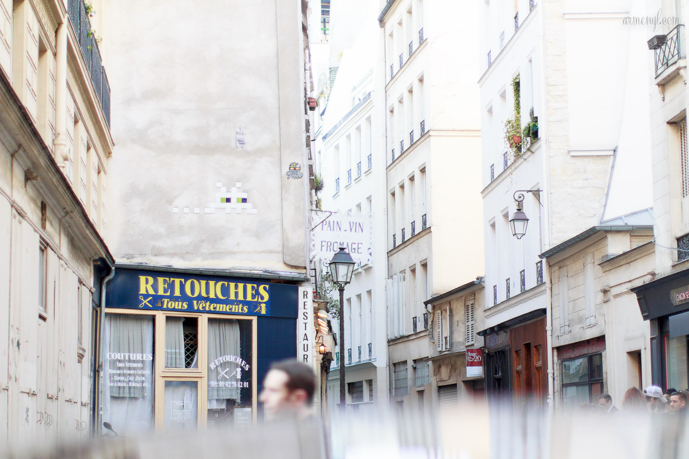 Le Marais in Paris, beautiful streets in Paris photographed by lifestyle and fashion blogger Armenyl.com