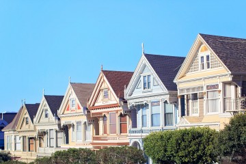 Painted Ladies San Francisco CA photographed by Armenyl.com photography