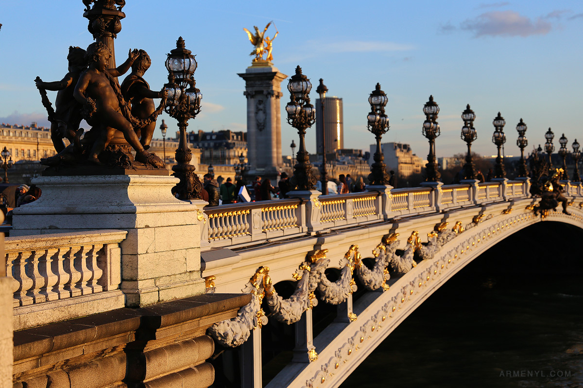 Pont Alexandre III Paris Photographed by Armenyl.com