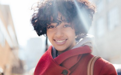 Model Damaris Goddrie at New York Fashion Week 2016 photographed by Armenyl.com