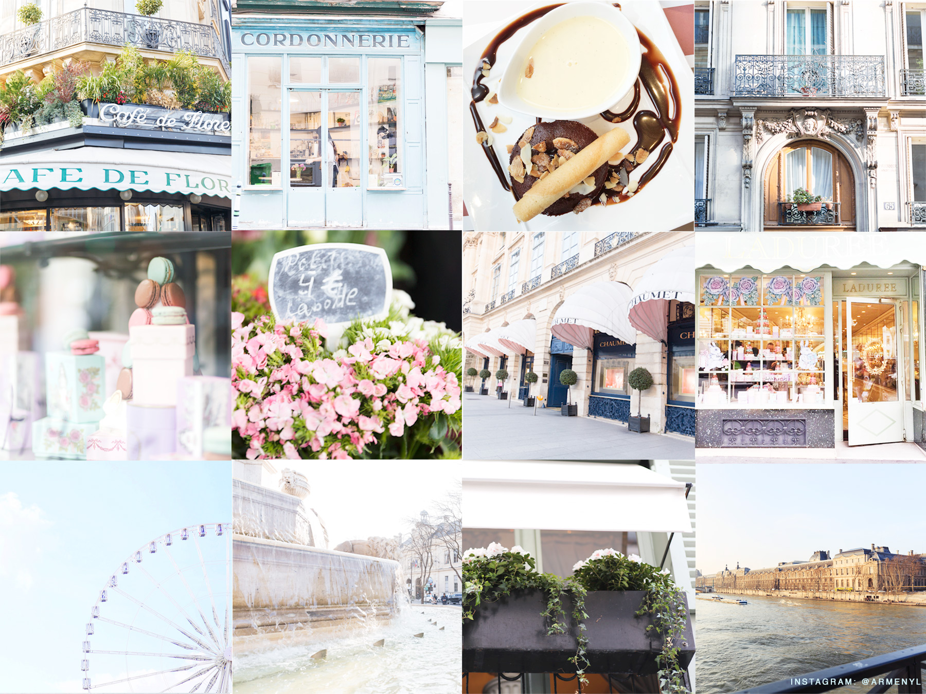 Paris snapshots by Armenyl's instgram