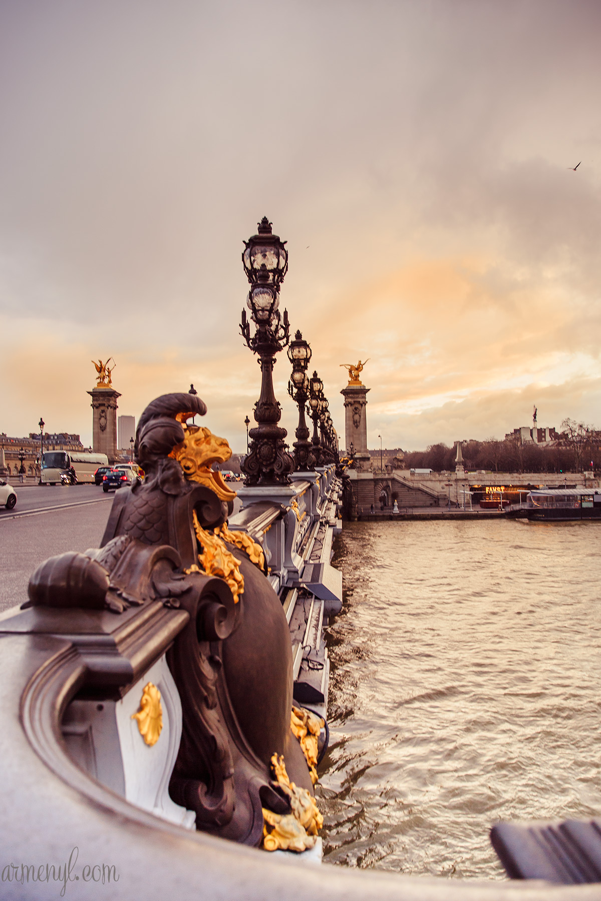 Pont Alexandre III, landscape and travel photography by Armenyl.com