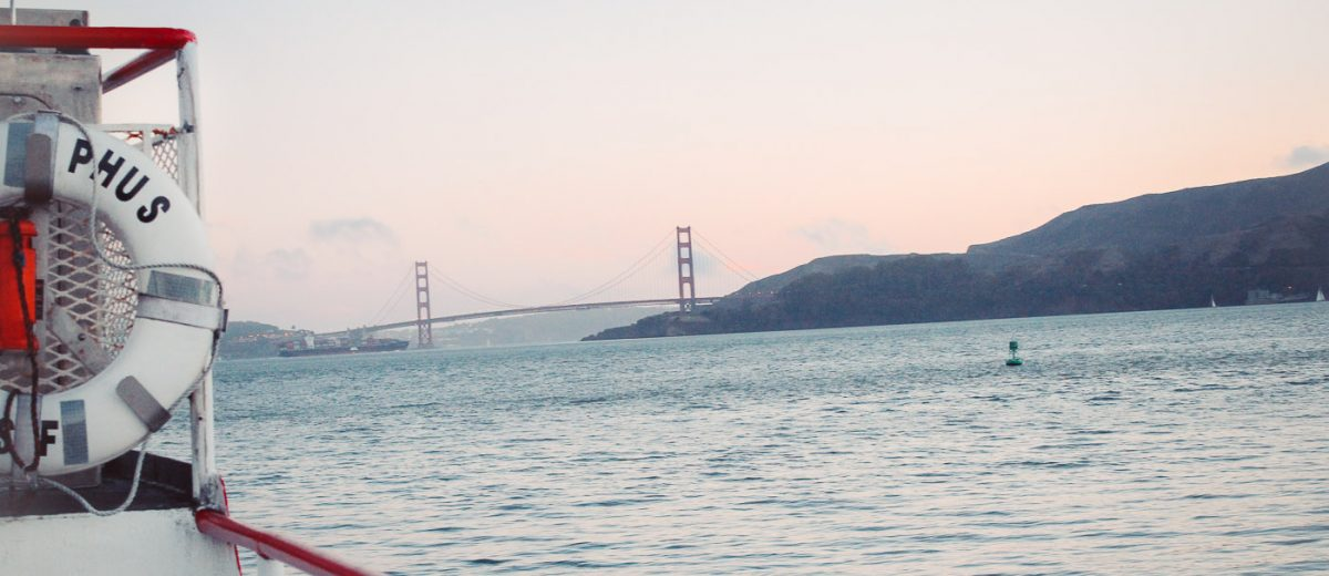 San Francisco Bay Sunset Cruise photographed by travel blogger Armenyl