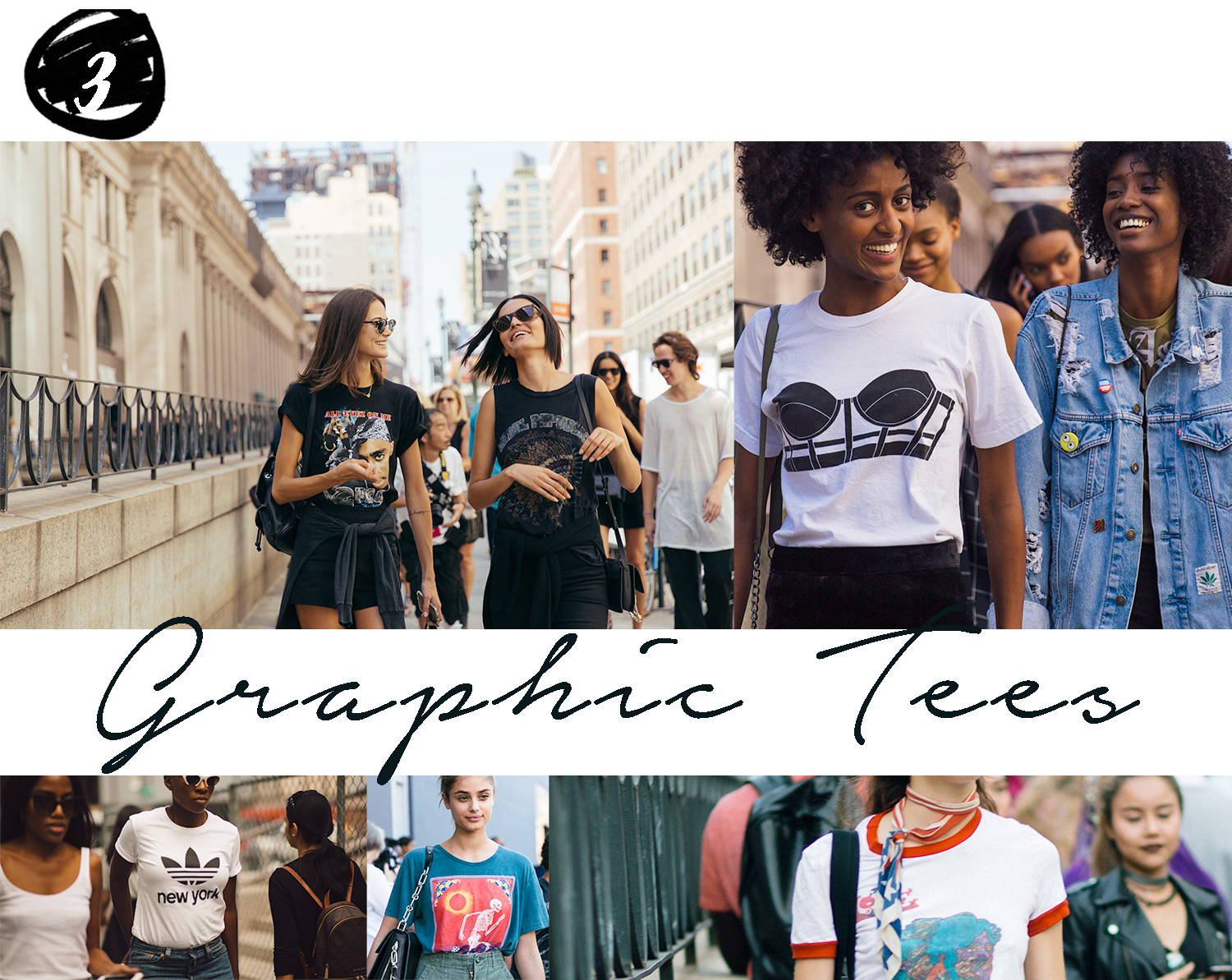 Style Report Fashion Week trends 2016 Graphic T shirts by Armenyl.com