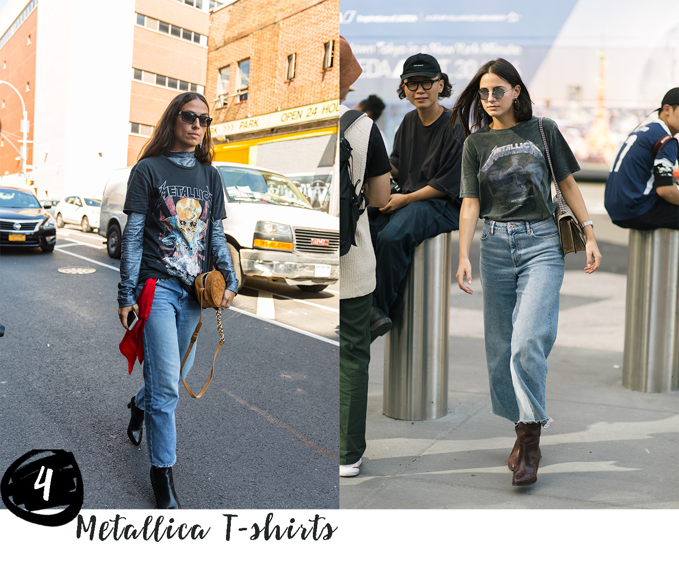 Fashion trends 2016 Metallica Tees compiled and photographed by Armenyl.com