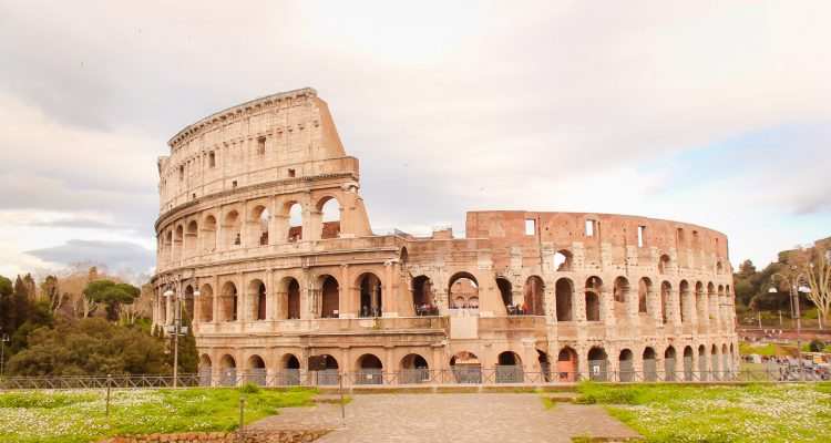 The Colosseum in Rome Italy photograph by Armenyl.com