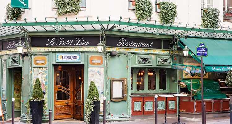 Le Petit Zinc Paris Restaurants in Cute French Restaurants by Armenyl.com