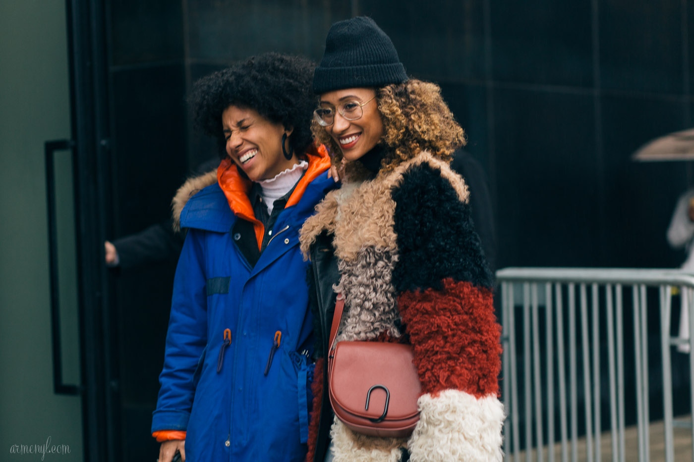 Teen Vogues Elaine Welteroth at New York Fashion Week photo by Armenyl.com