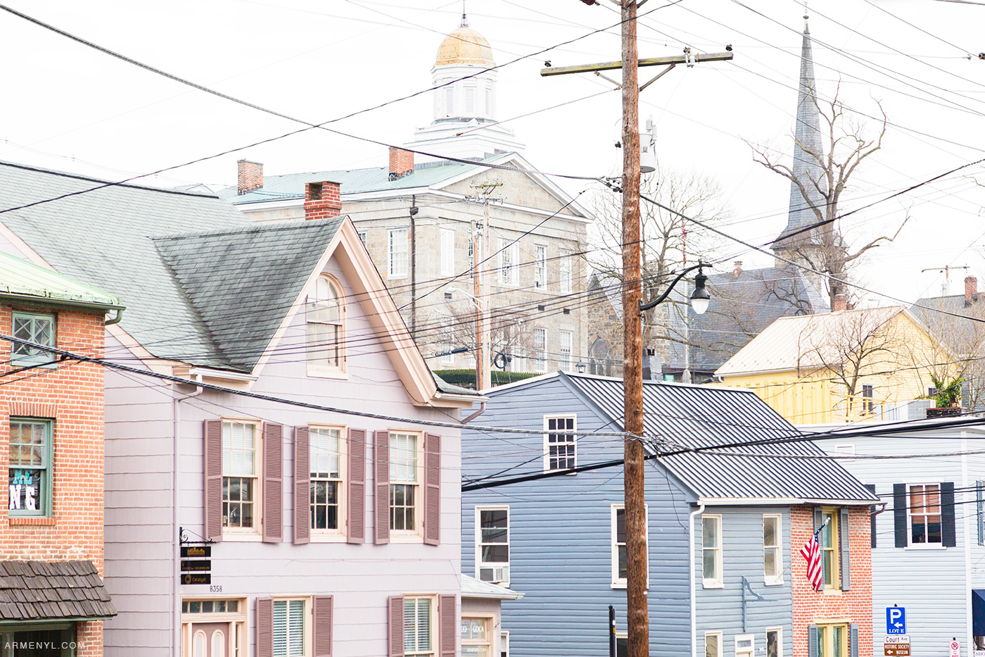 Pastels in Ellicott City Maryland Charm | Armenyl.com