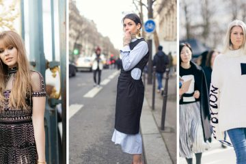 Street style looks from Paris Fashion Week | Armenyl.com