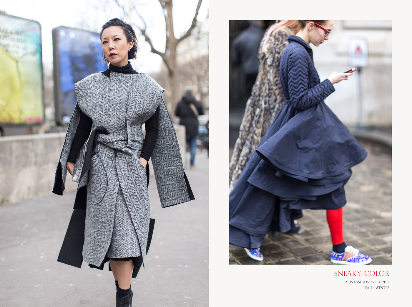 STREET STYLE AT PARIS FASHION WEEK | ARMENYL.COM