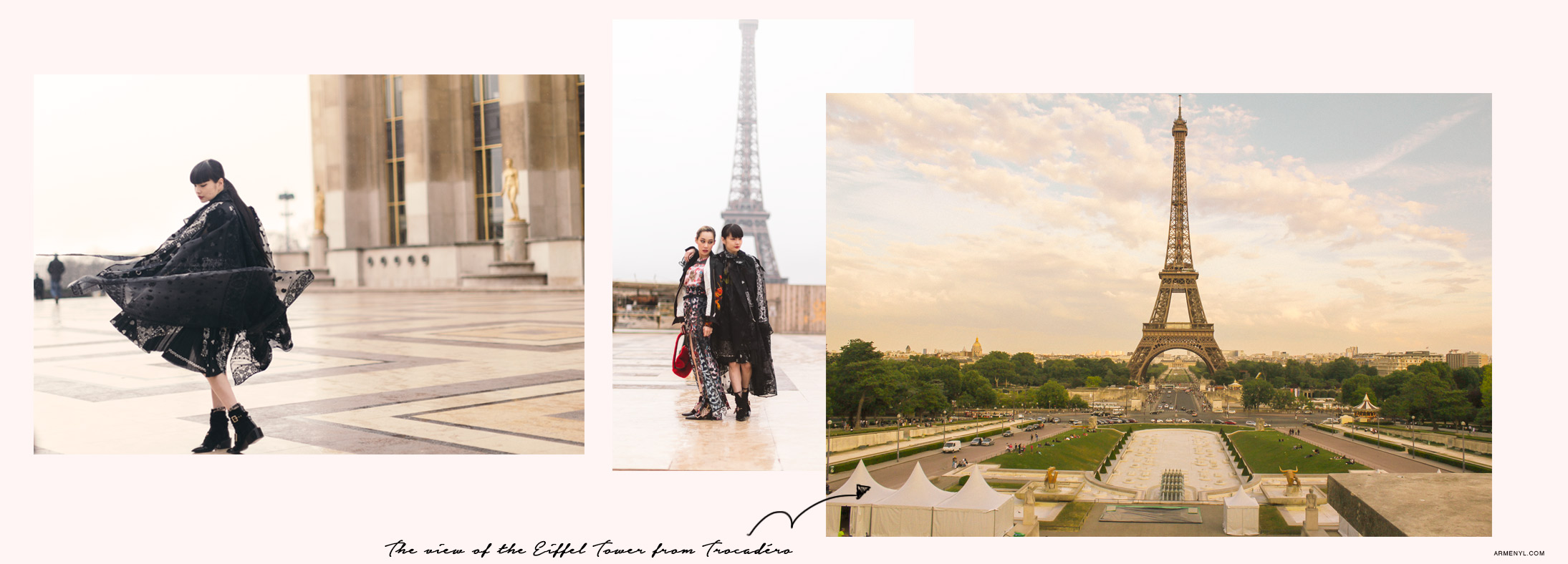 The best places to photograph the Eiffel Tower in Paris by Armenyl.com