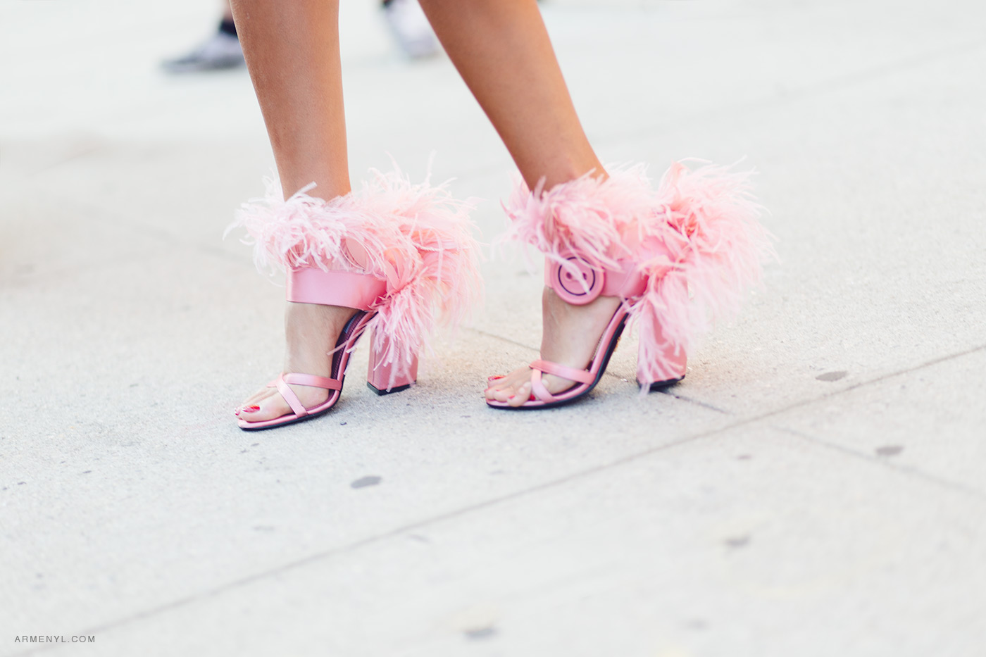 DVF Street Style New York Fashion Week S/S 2018 photographed by Armenyl
