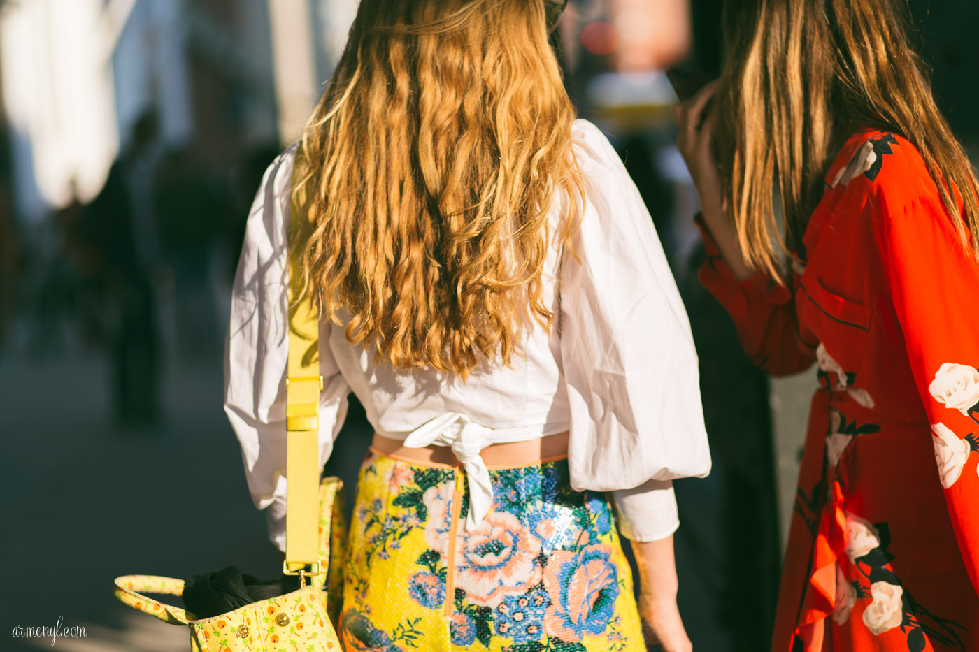 Street Style New York Fashion Week S/S 2018 photographed by Armenyl
