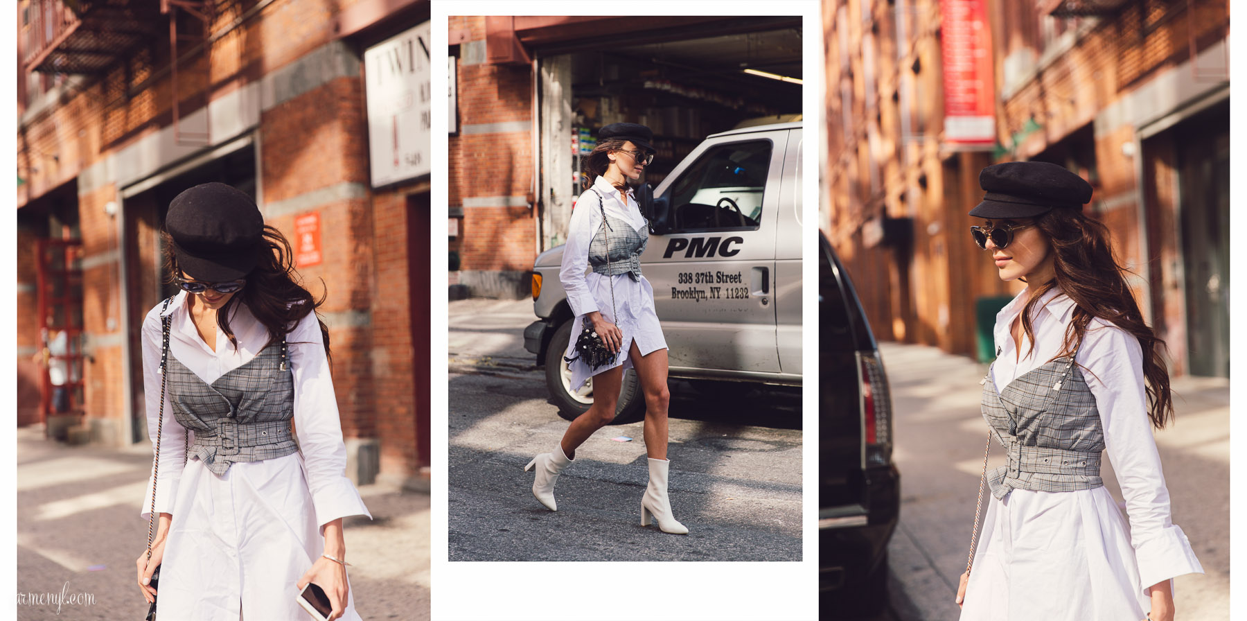 Street style Looks At 31 Philip Lim New York Fashion Week SS 2018 September 11 photographed By Street style photographer Armenyl