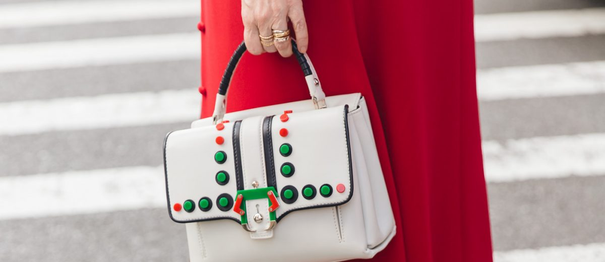 The best bags purses and accessories at New York Fashion Week photo and conent by Fashion Photographer Armenyl