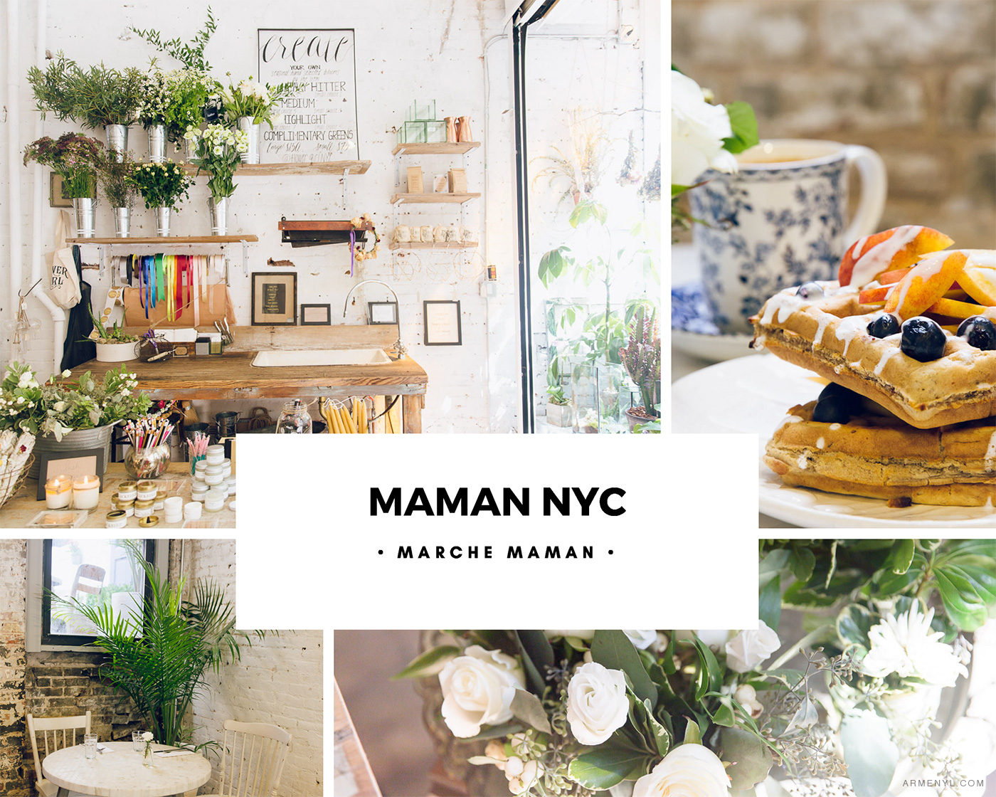 New York City Guide: the most Instagram worthy spots in NYC Featuring Maman NYC photo by Armenyl