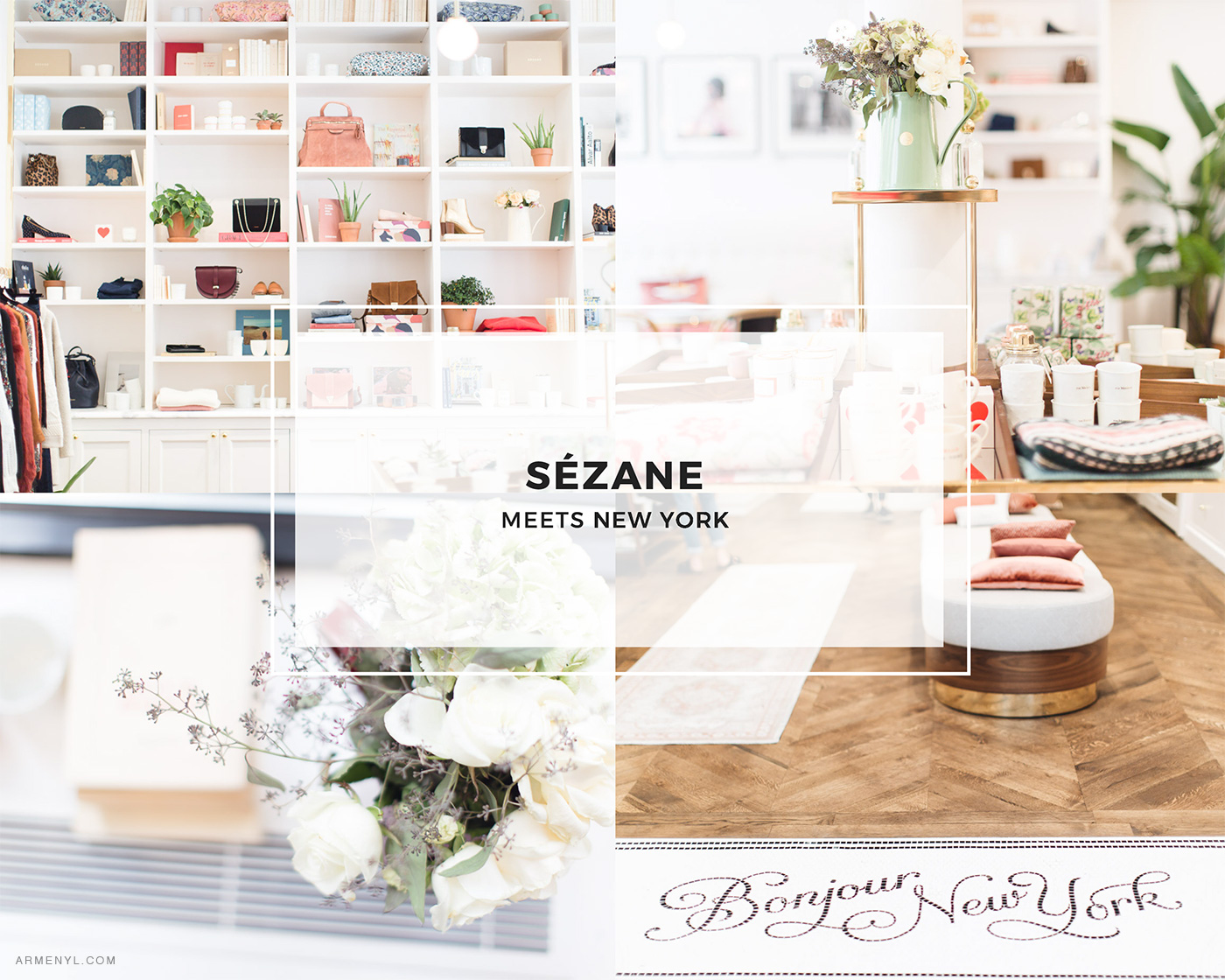 New York City Guide: the most Instagram worthy spots in NYC Sezane in New York City photo by Armenyl