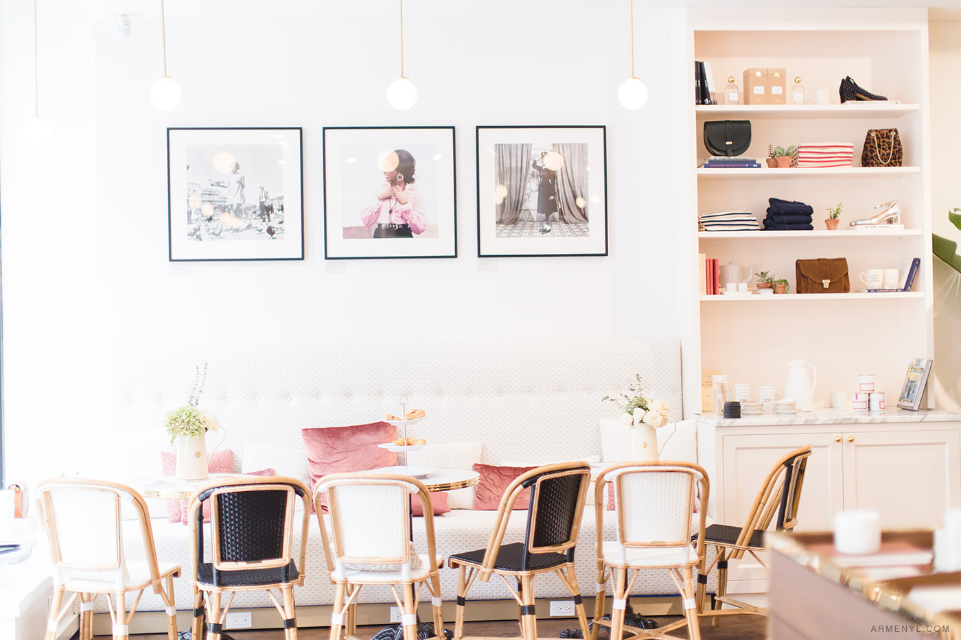 New York City Guide: the most Instagram worthy spots in NYC Featuring Sezane NYC photo by Armenyl