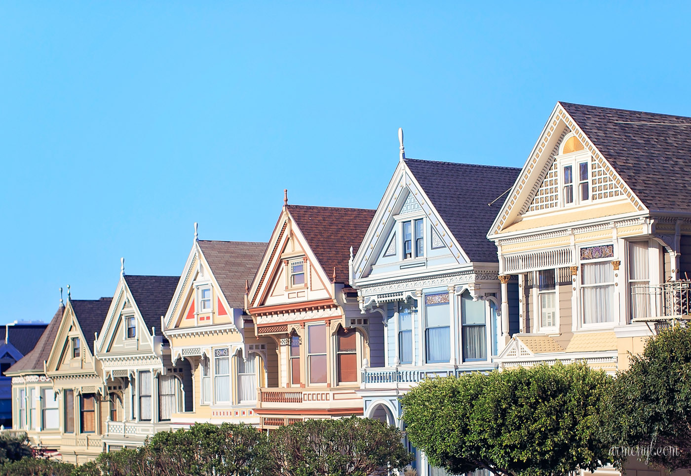 Postcard From Cali Painted Ladies Armenyl
