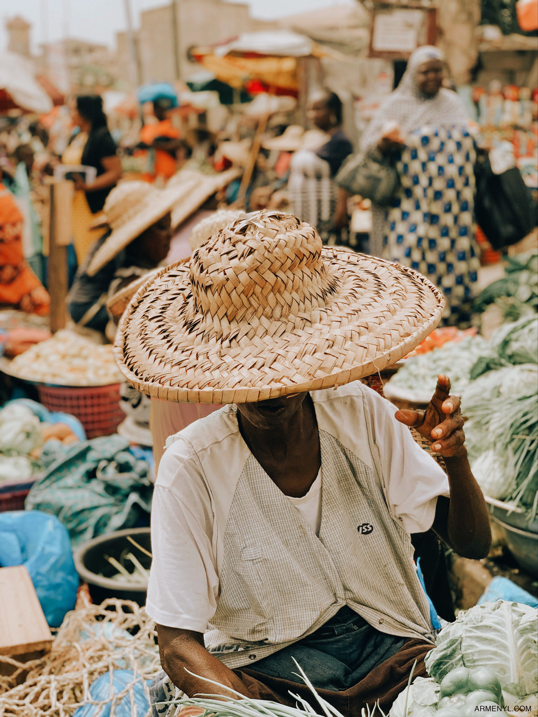 Market Day in Accra | Armenyl